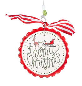 Merry Xmas Sleigh roound f
