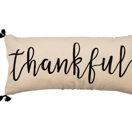 Thankful Emb. Pillow