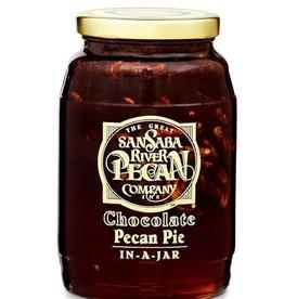 Chocolate Pecan Pie-In-A-Jar