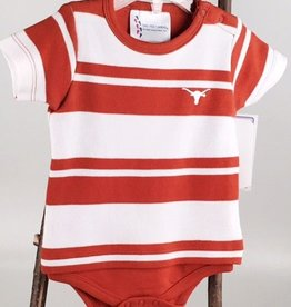 UT Striped Baby Onesie