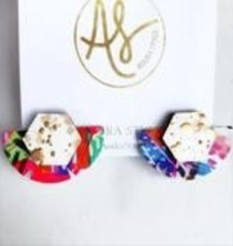 AudraStyle Stud Muffin Earring-