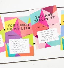 mary square Postcard Book-
