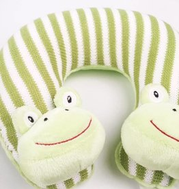 Freckles the Frog Travel Pillow