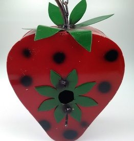 Red and Green Birdhouse -