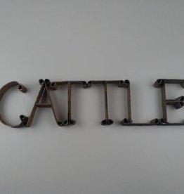wilco home CATTLE Cutout Sign-Cream White