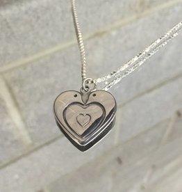 Anita Goudeau AG1078 Dove's Heart Necklace SS 20
