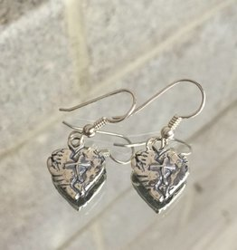 Anita Goudeau AG1136er Mended Heart Dangle Earrings SS