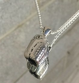 AG1148 Victory Softball Glove Necklace