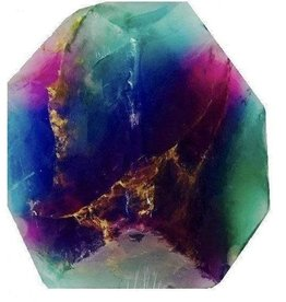 Soap Rocks Fluorite Rainbow SoapRock