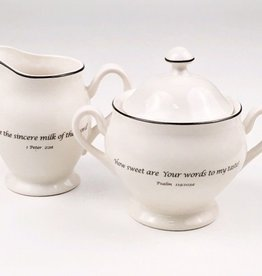 Sugar Bowl & Creamer Pitcher