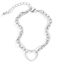 Splendid Iris Double Layer Bracelet-