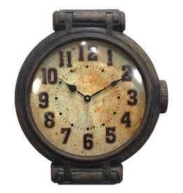 Antique Wrist Watch Wall Clock