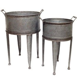 Beverage Coolers On Stand-