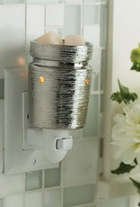 Pluggable Fragrance Warmer- Brushed Chrome