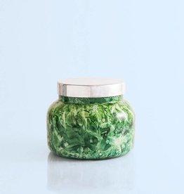 Green Cactus Flower Watercolor Jar-