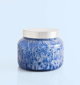 Lilac Blue Jean Watercolor Jar-
