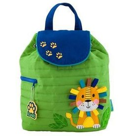 Quilted Back Pack - Lion