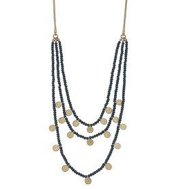 Bean/Coin Necklace-