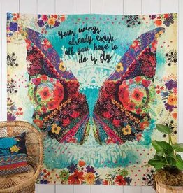 Your Wings Tapestry
