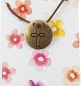 Brown Chickadee Necklace-