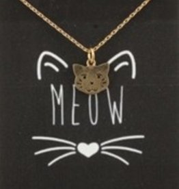 Gold Cuddle Bug Necklace-