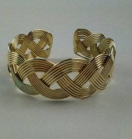 Anju Art Jewelry Large Braided Cuff-