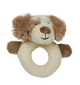 Max The Puppy Ring Rattle