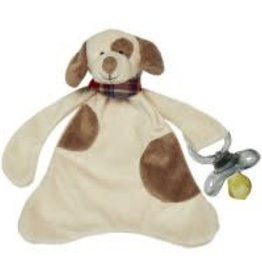 Max The Puppy Pacifier Blankie