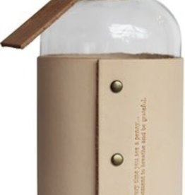 Gratitude Jar w. Sleeve, Natural/Copper