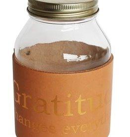 Gratitude Journal Jar w. Copper