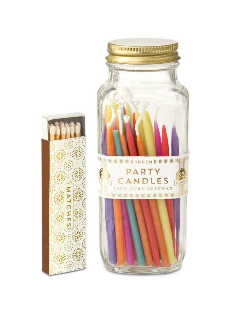 SKEEM DESIGN Party Candle Bottle