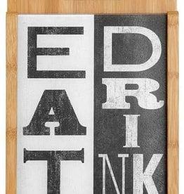 Eat Drink Cutting Board