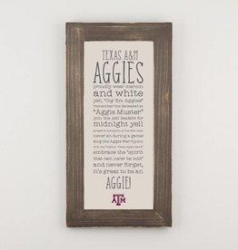 GLORY HAUS Collegiate Fabric Board-