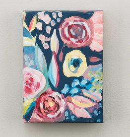 GLORY HAUS Navy, Floral Canvas