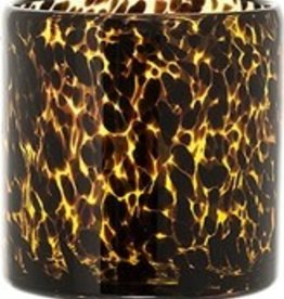 BLOOMINGVILLE Amber & Black Glass-