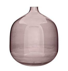 BLOOMINGVILLE Round Glass Vase-