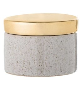 BLOOMINGVILLE Stoneware Box w Lid-