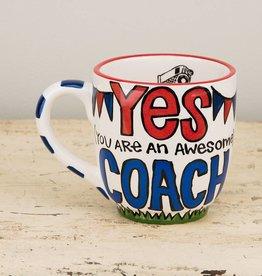 Yes Coach Jumbo Mug