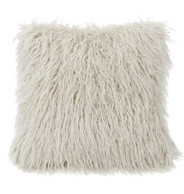 Mongolian Faux Fur Pillow -