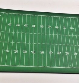 Football Field Paper Placemats Green/White