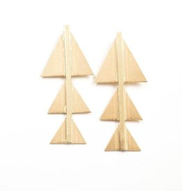 Ink Alloy B.B. & Triangle Earring