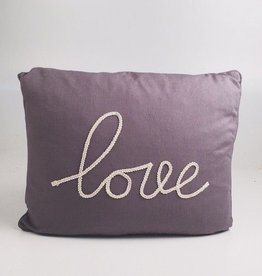 LEVTEX Love Rope Pillow (Grey)