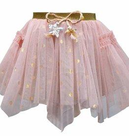 Hannah Banana/Baby Sara Hanky Hem Tutu Skirt w/ Smocking Pink