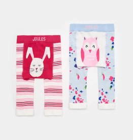 Joules Lively Leggings Bunny and Owl Set