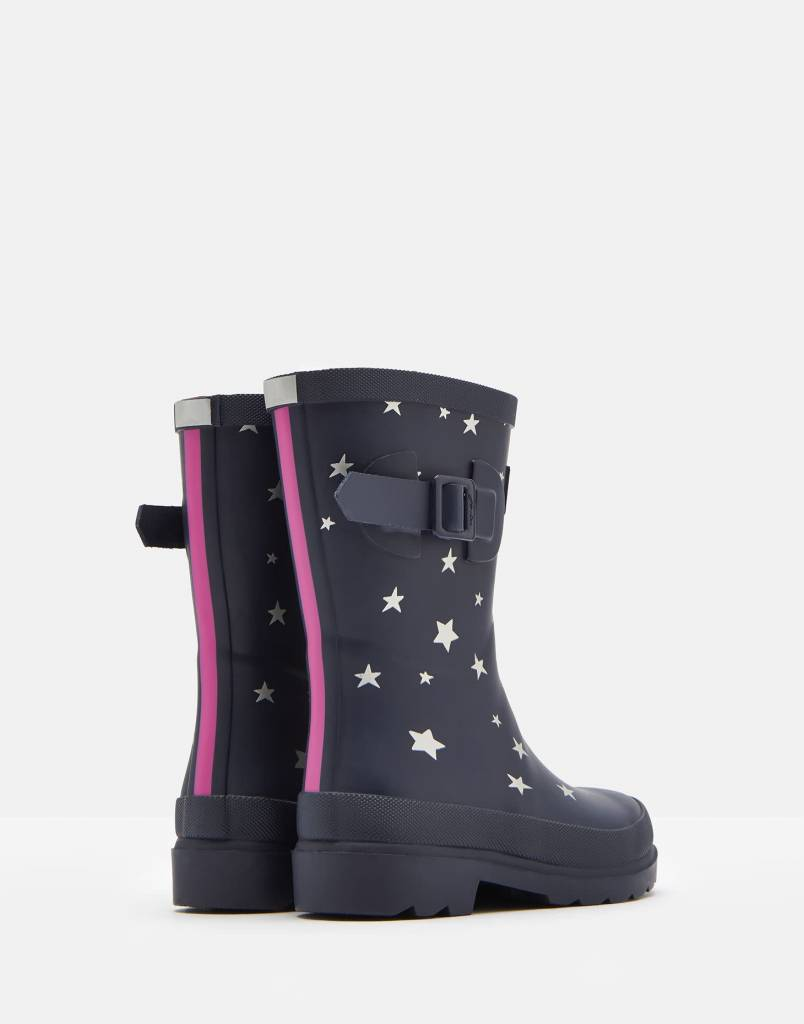 d521b8c26bf Joules Printed Rainboots Navy Falling Star
