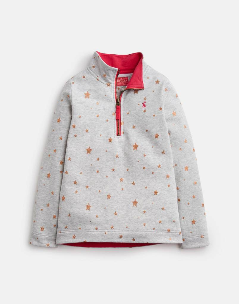 Joules Fairdale Sweatshirt Grey Marl Star