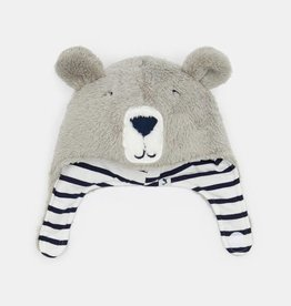 Joules Baby Snuggle Hat Bear