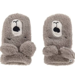 Joules Baby Snuggle Character Gloves Bear