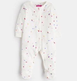 Joules Cosmo Velour Printed Footie Teeny Bear