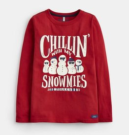 Joules Raymond Glow in the Dark Jersey Snowmies